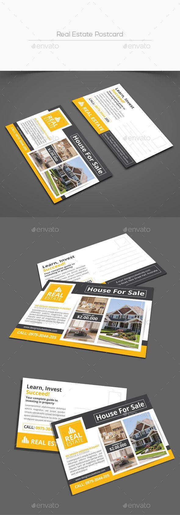 Realtor Real Estate Postcards Sold Postcard Keller Williams Eddm 6x11 Color Real Estate Postcards Real Estate Advertising Real Estate Business Cards
