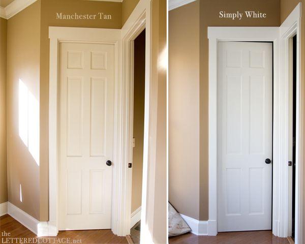 Sunroom Makeover Step One Simply White Painting Trim Sunroom