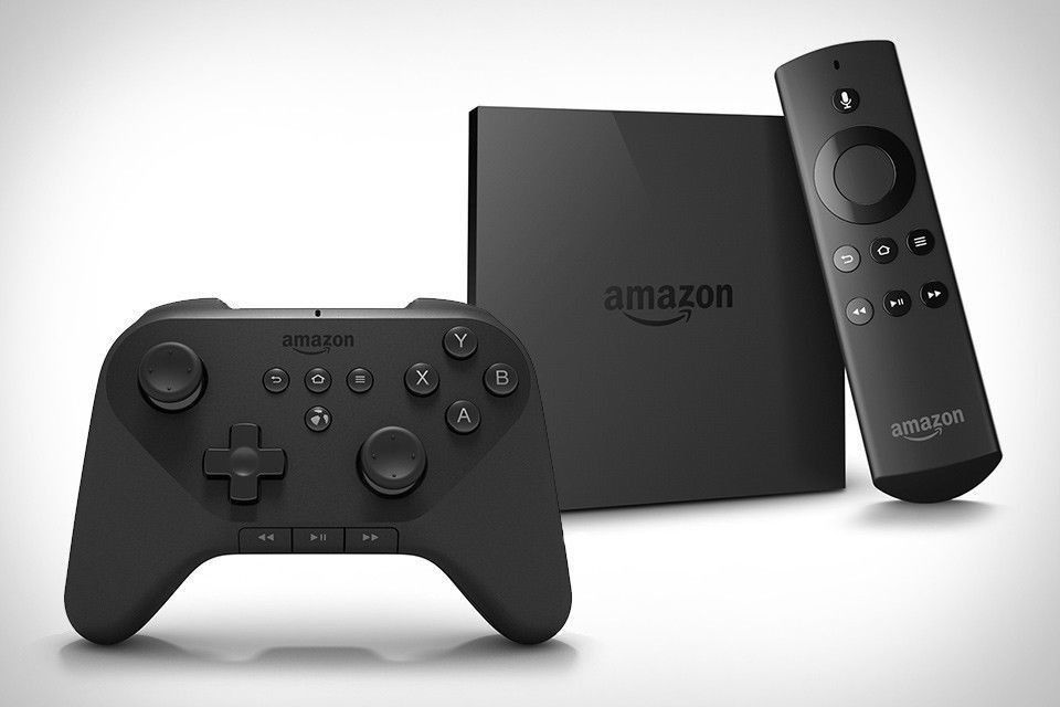 Brand New Amazon  Fire TV Digital HD Media Streamer + Gaming Controller Bundle #Amazon