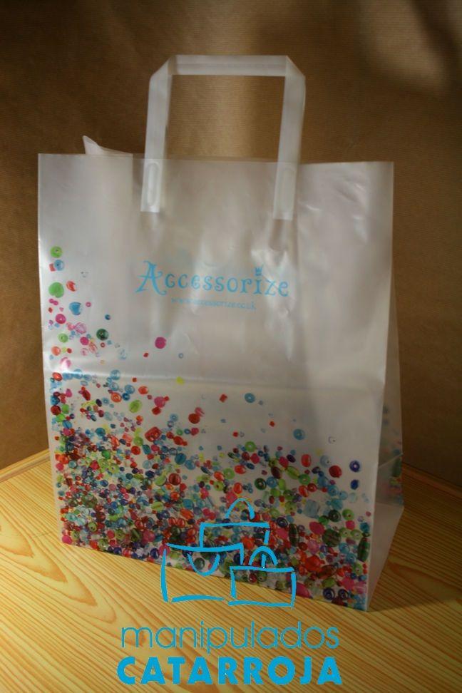 e3fbf079f Bolsas de plastico personalizadas. | Bolsas de papel de lujo ...