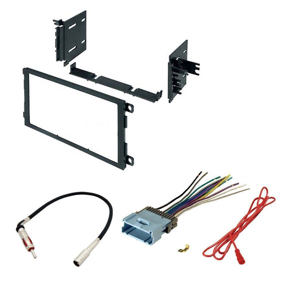 Asc Audio Car Stereo Dash Kit Wire Harness And Antenna Adapter To Gmc Add A Double Din