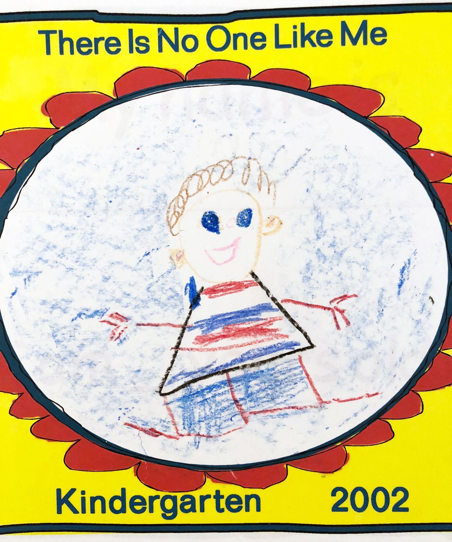 No One Like Me Age 6 Crayon On Printerd Worksheet
