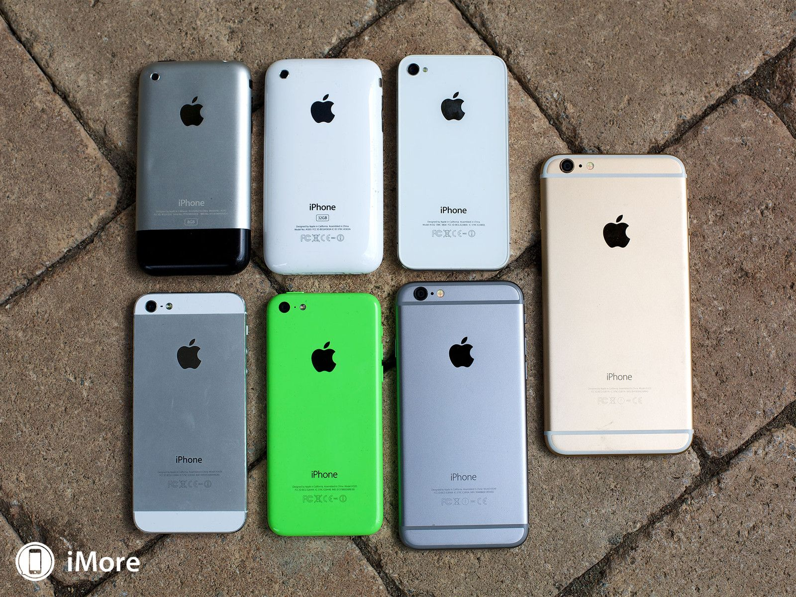 iphone 1 6. From IPhone To 6 Plus - In Pictures!   IMore Iphone 1 O