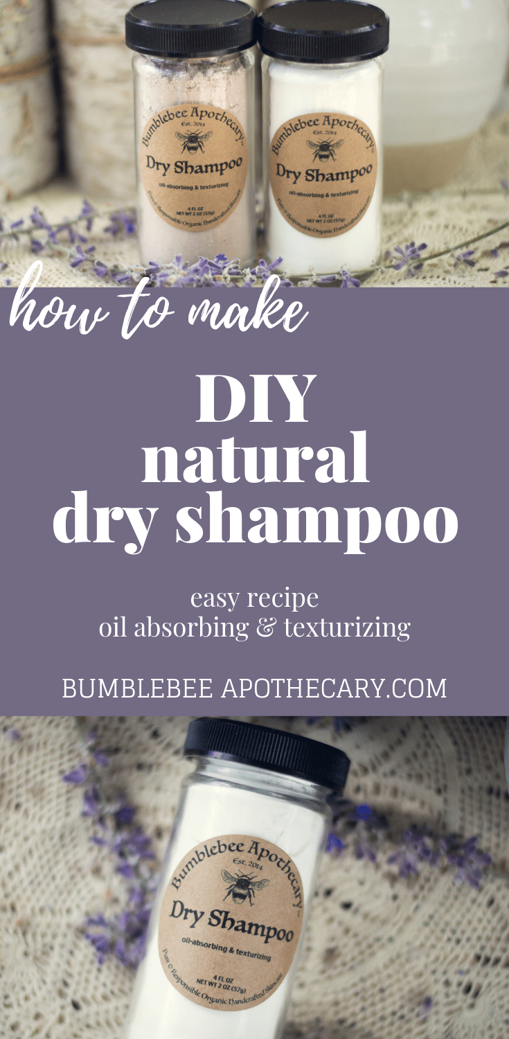 A fast and easy dry shampoo recipe for days when you dont have time to wash your hair  and dont have time for nasty chemicals