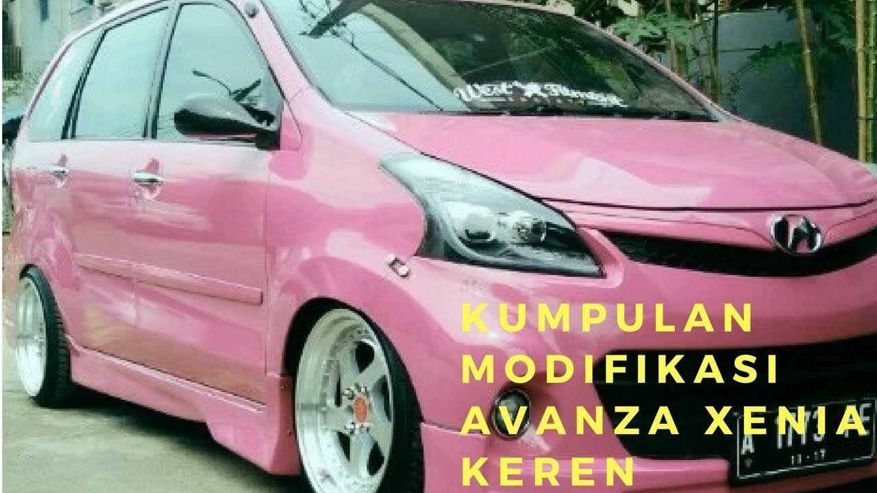 Modifikasi Mobil Avanza Warna Pink Modifikasi Mobil Mobil Daihatsu