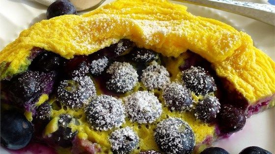 Microwave Blueberry Dutch Baby | Recipe in 2020 | Easy ...