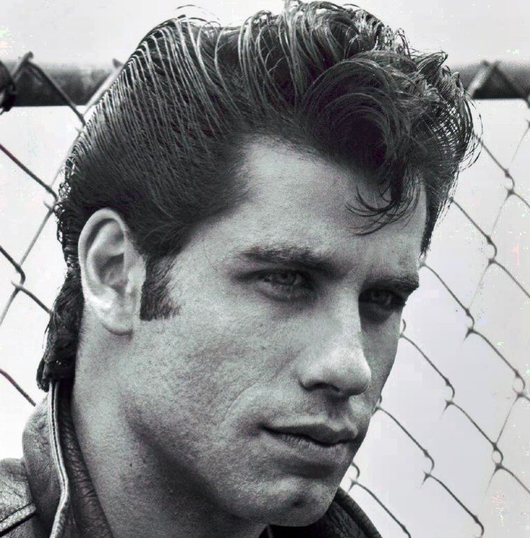50s Hairstyles For Men His Signature Look In The Course Of The 1950s Was A Shiny Pompadour Worn Excessive On The Entrance And Combed Right Into A Ducktail On T