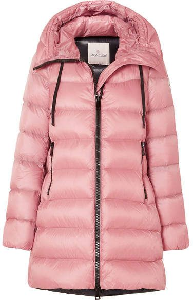Moncler - Quilted Shell Down Jacket - Pink   II FASHION COMBINATIONS ... 07a8619a182