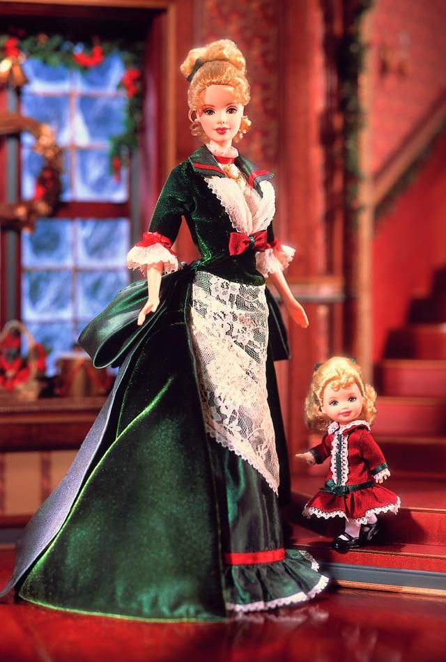 I think my thesis (in Victorian Lit.) requires that I own this Barbie.  You there!  Find it for me on eBay!