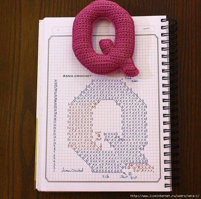 ZX8QDBNWbWA (700x694, 358Kb)   Apliques Crochet -Tricot   Pinterest ...