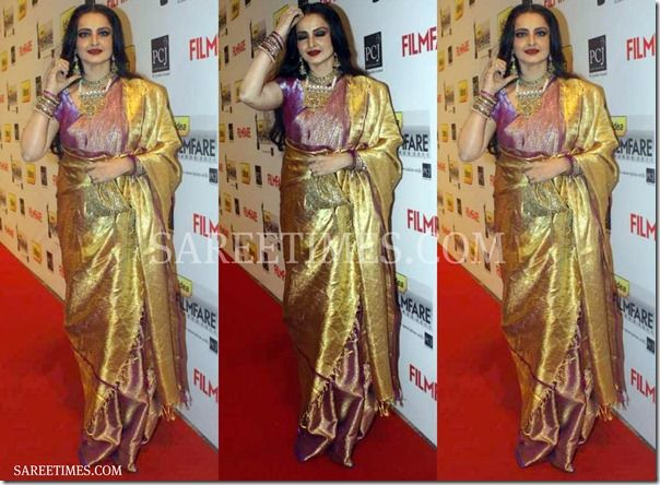 Rekha in Saree