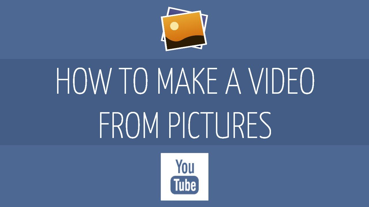 how to make a video presentation with music and pictures