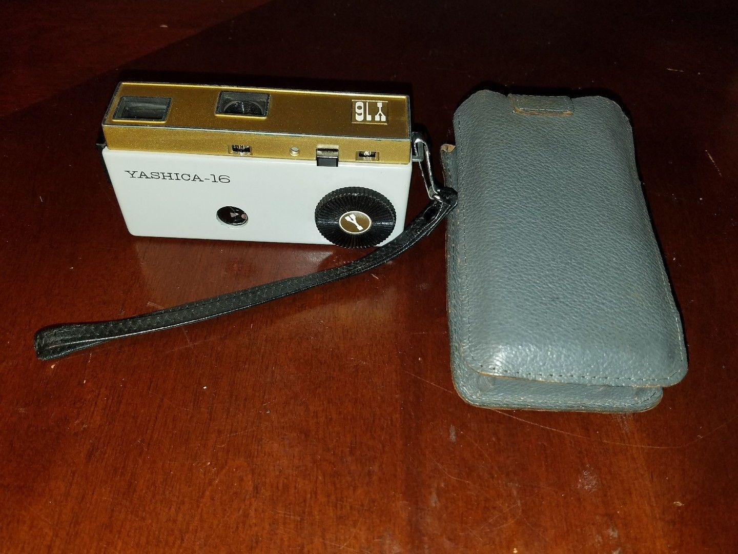 Vintage Yashica Y16 Spy Camera Made In Japan Rare With Case Retro Small Ebay