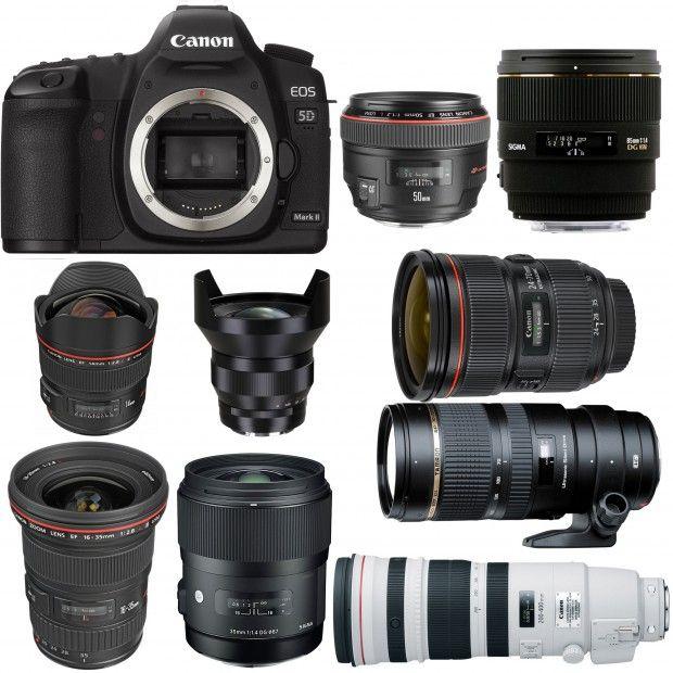 Best Lenses For Canon Eos 5d Mark Ii Canon Lens Dslr Photography Tips Photography Equipment