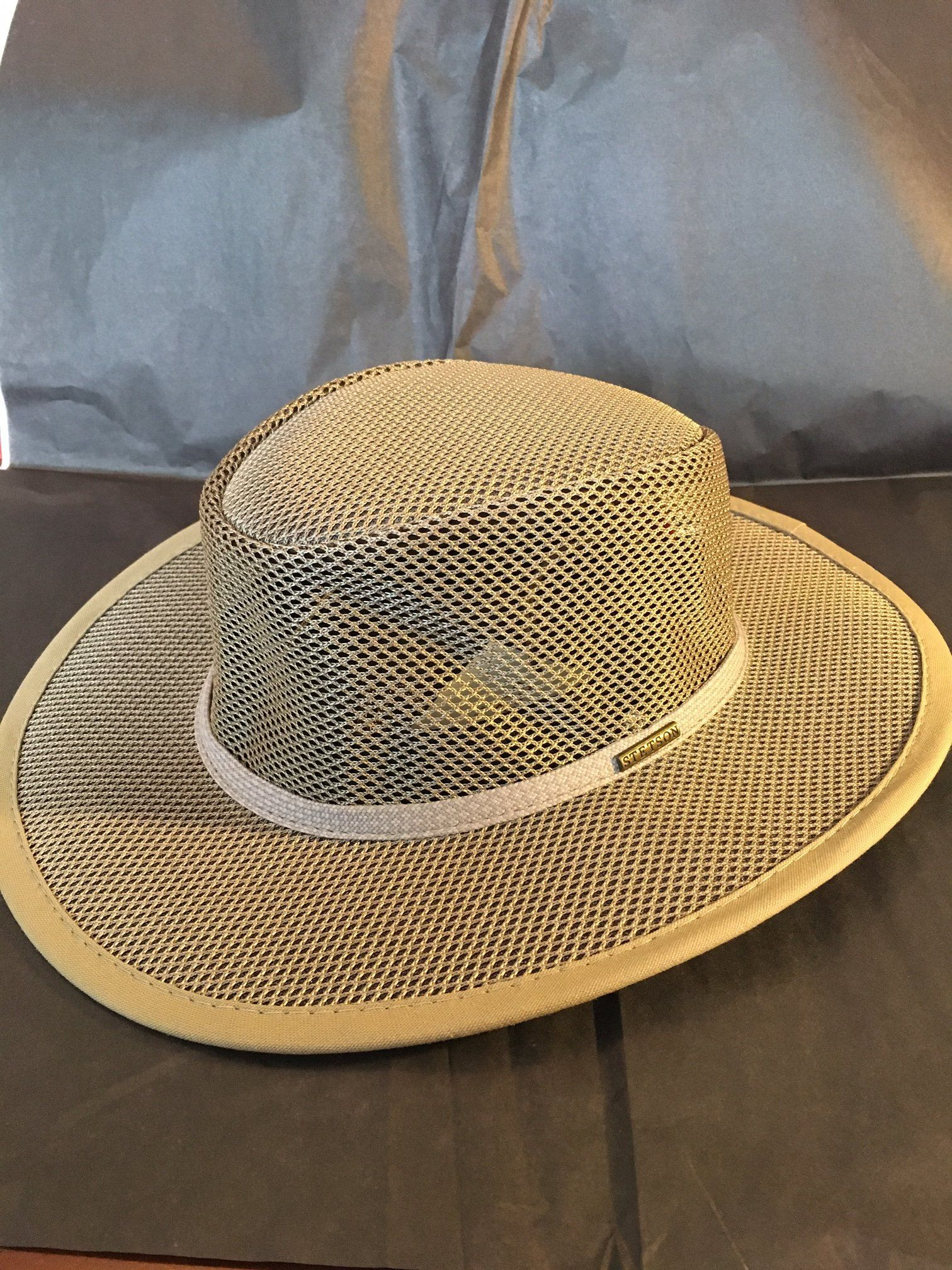 1c5b8d3a0fb Stetson Mesh Safari Hat Soakable STC205 by Walkabout, Cool Mesh ...