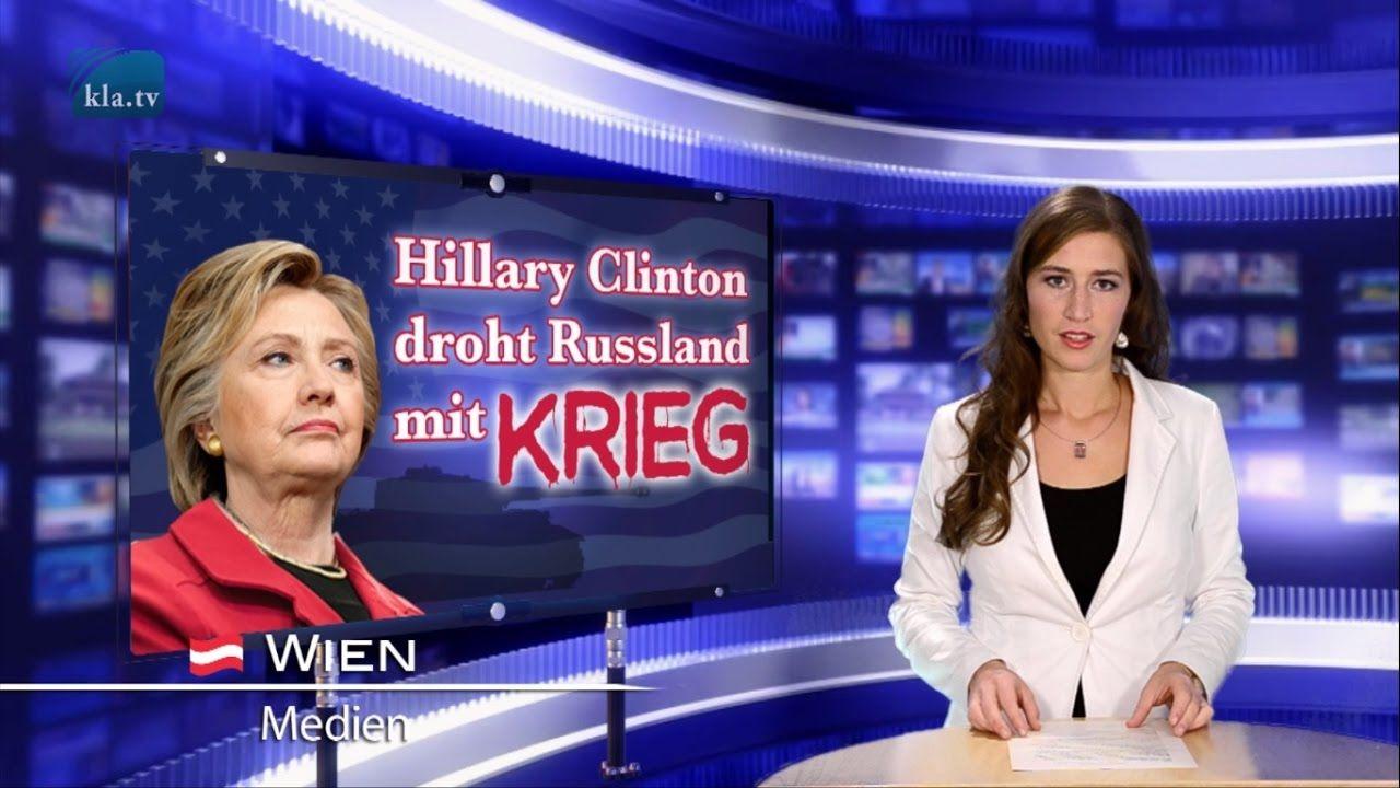 Hillary Clinton droht Russland mit Krieg | 08.11.2016 | www.kla.tv/9345