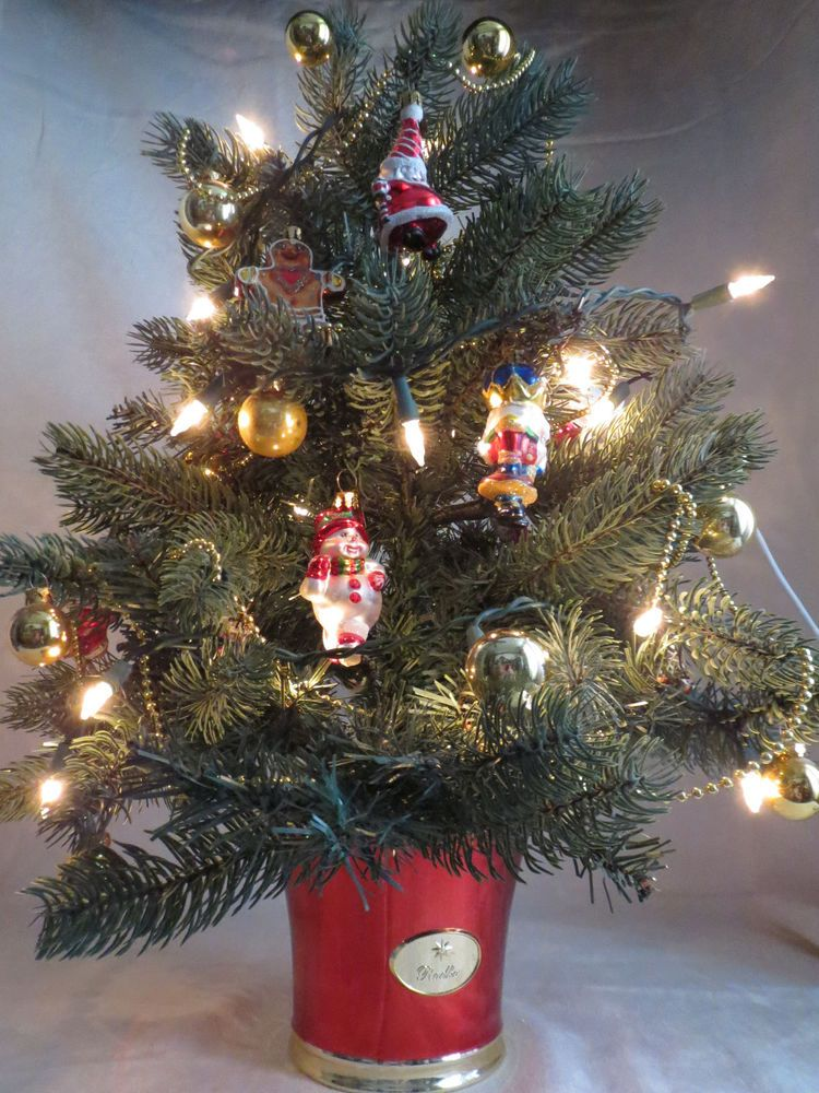 Ltd Edition Teleflora Christopher Radko Lighted Decorated Small - how to decorate a small christmas tree