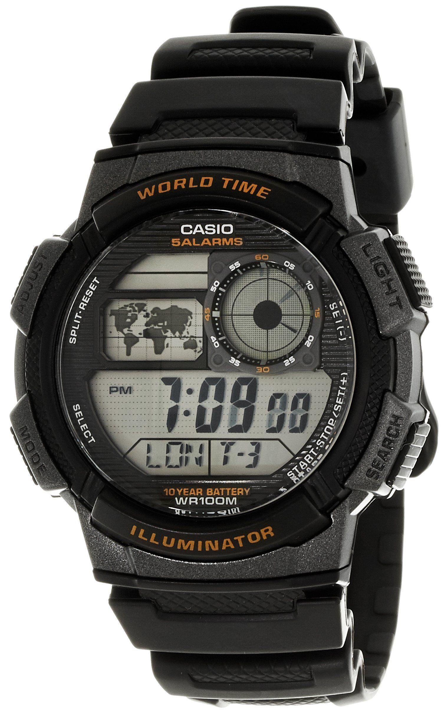 7f92502c1c91 CASIO Collection AE-1000W-1AVEF - Reloj de caballero de cuarzo ...
