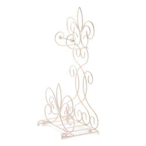 Fleur De Lis Bathroom Rack