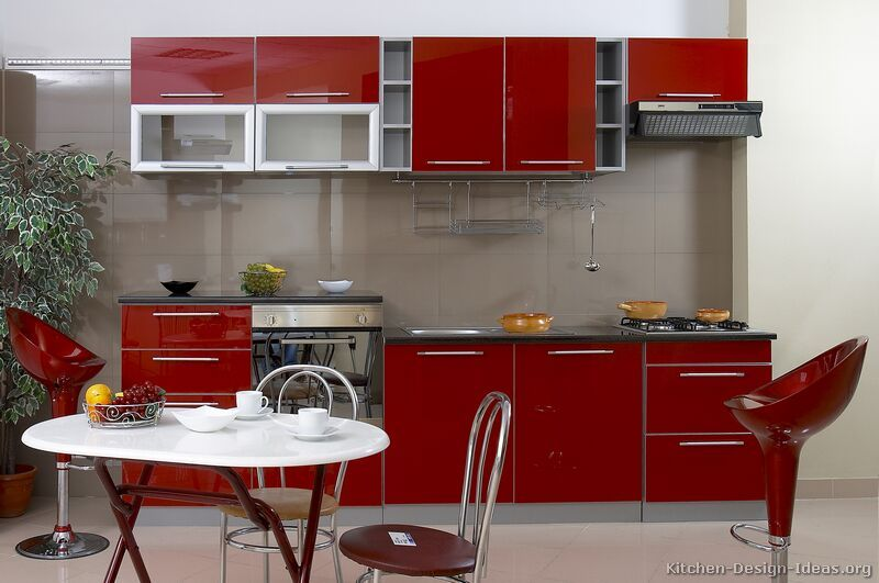 Pictures Of Kitchens Modern Red Kitchen Cabinets Kitchen Design Small Kitchen Design Modern Small Small Kitchen Furniture