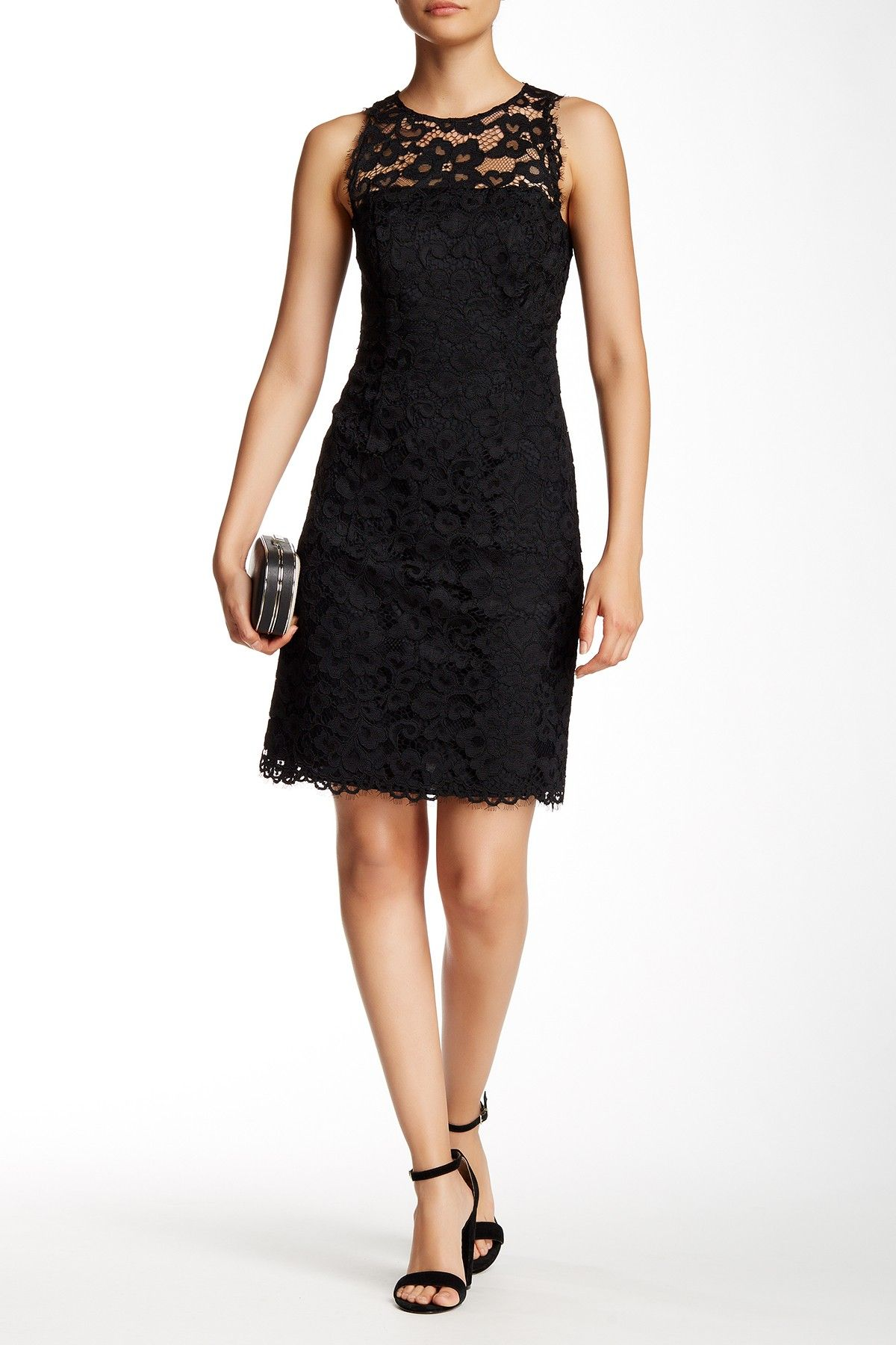 Lace dress products pinterest lace dress red shoes and black