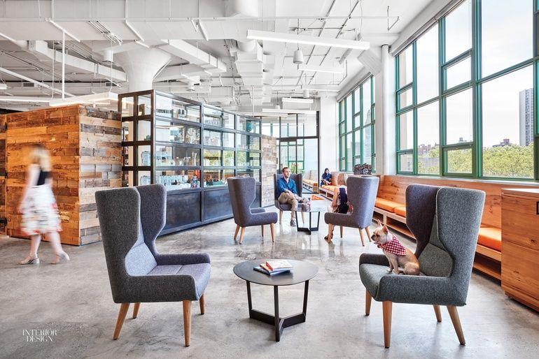 Etsy Headquarters Embrace Laptop Culture And Local Makers Interior Design Magazine Corporate Office Design Interior Design