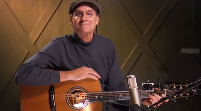 James Taylor Gives Lessons On How To Play Some Of His Songs