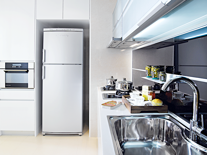 Look at how De Dietrich appliances fit perfectly into the luxurious ...