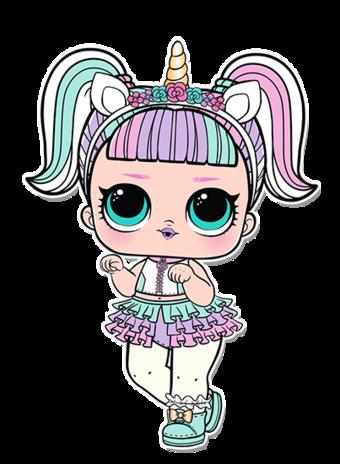 3 012 Unicorn Png Bambole Lol Idee Per Il Compleanno Bamboline