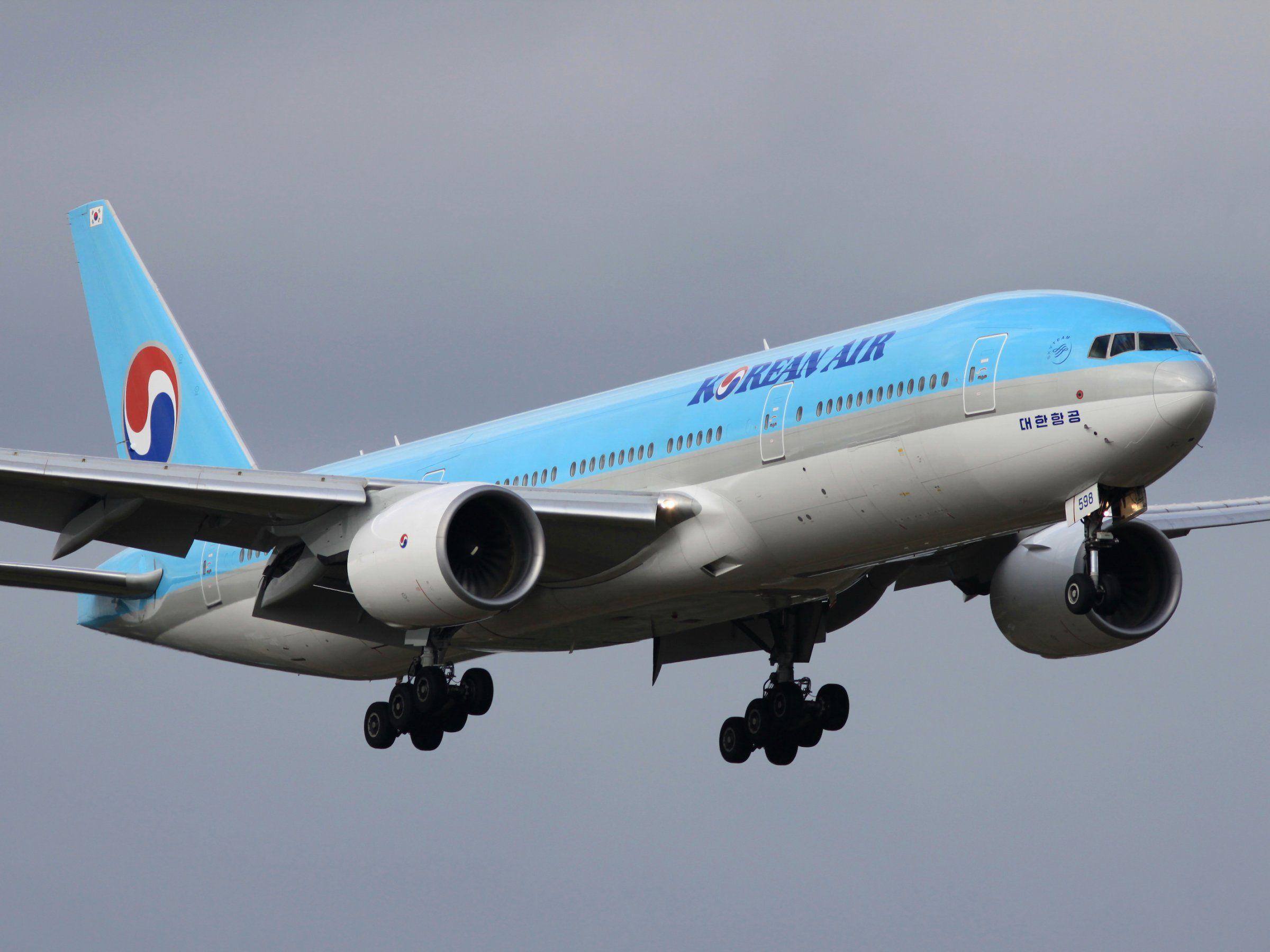 An American woman was dragged off a Korean Air flight