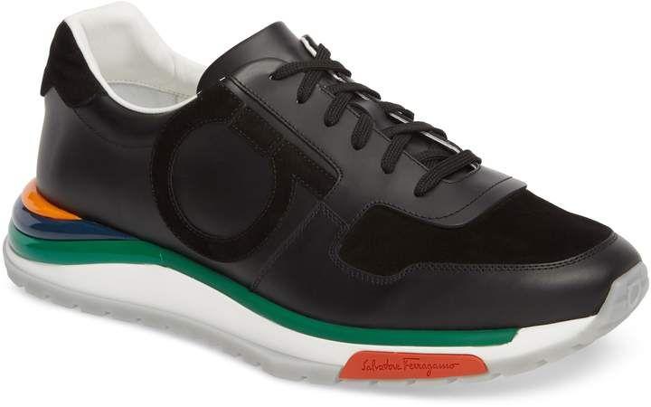 ferragamo brooklyn running shoe