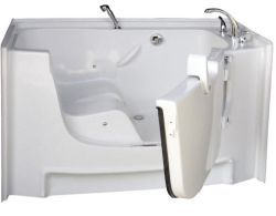Senior Citizen Bathtub Door http://www.disabledbathrooms.org ...