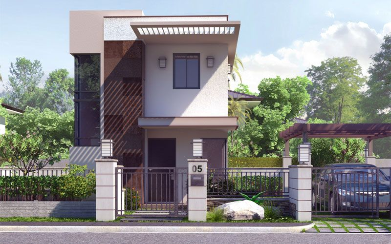 Contemporary House Design, PHD 2015020   Pinoy House Designs | Cool  Houseplans | Pinterest | House, Exterior And Townhouse