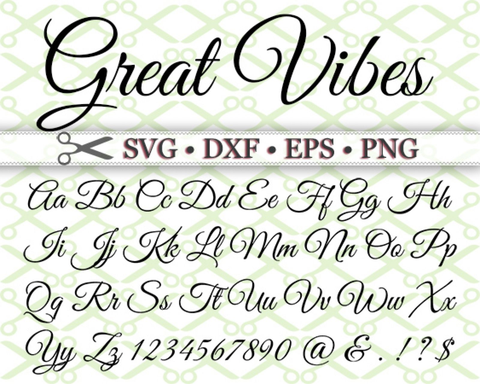 Great Vibes Svg Font Lettering Alphabet Lettering Fonts Hand Lettering Fonts