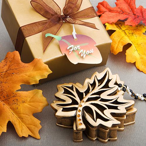 Fall Leaves Wedding Theme