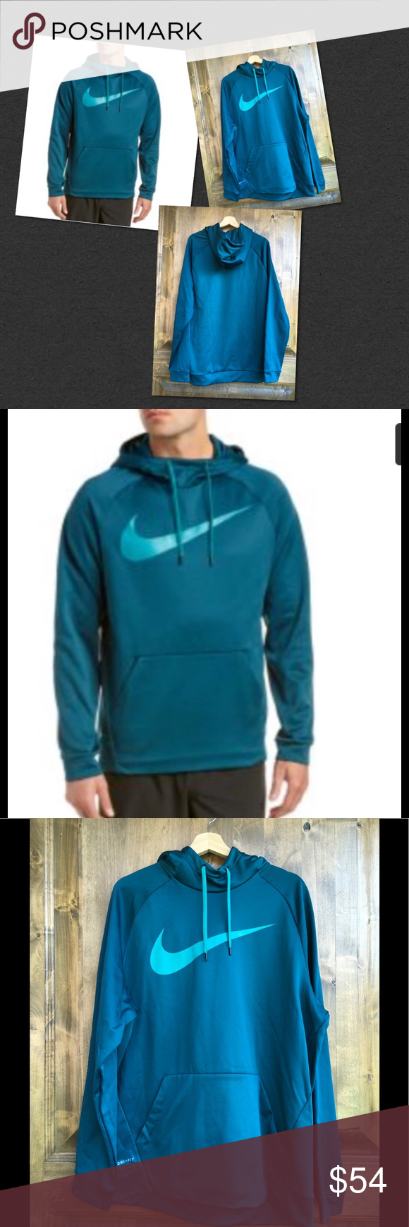 Nike Mens Swoosh Dri Fit Pullover Hoodie Hoodies For Sale Clothes Design Hoodies [ 1740 x 580 Pixel ]