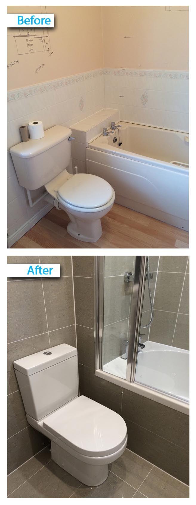 Full bathroom installation - Full Bathroom Renovation W Bath Screen Installation By By Uk Bathroom Guru See More