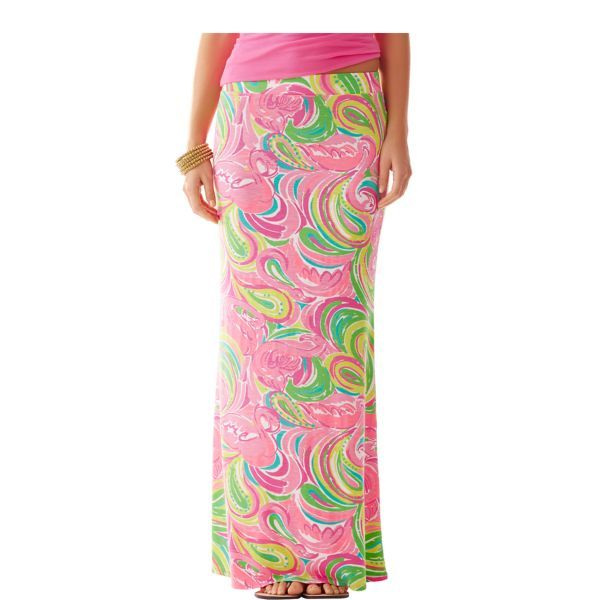 Marnie Maxi Column Skirt - Lilly Pulitzer