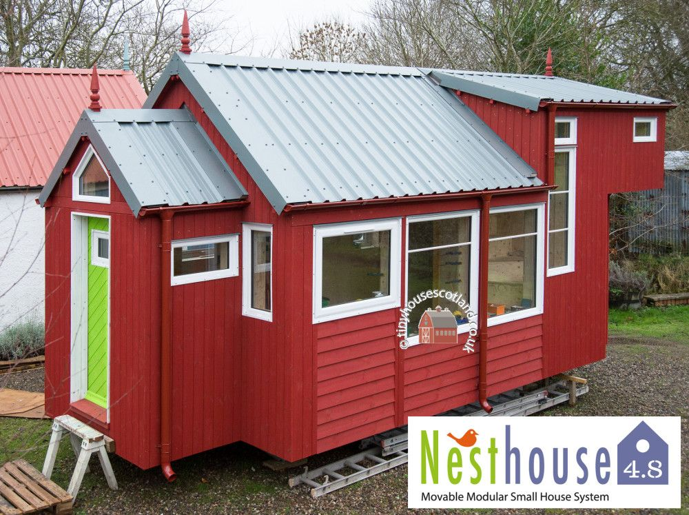 The Nesthouse 4 8 With Extra Modules From Tiny House