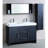 "Found it at Wayfair - 48"" Sink Vanity Set with Mirror and Side Cabinet"