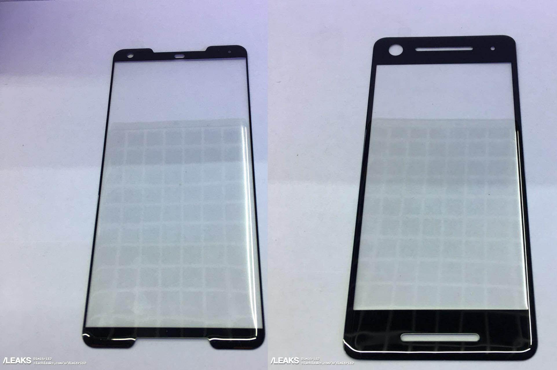 Alleged Google Pixel 2 & Pixel XL 2 s Screen Protectors Leak Android Google