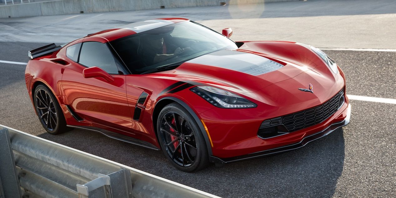 2018 Corvette Grand Sport >> 2018 Corvette Grand Sport Sports Car Design Front