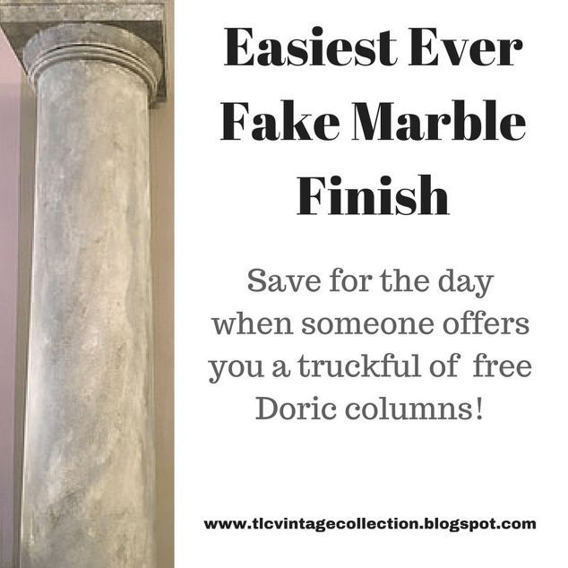 Easiest Way Ever To Fake Marble