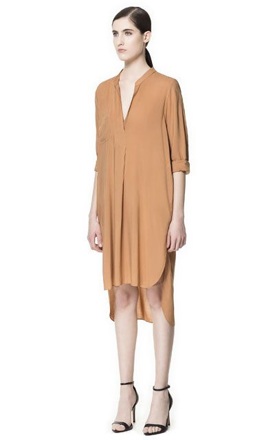 LONG ASYMMETRIC TUNIC - Dresses - Woman - ZARA United States