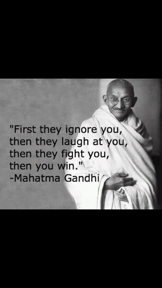 Gandhi People I Admire Pinterest