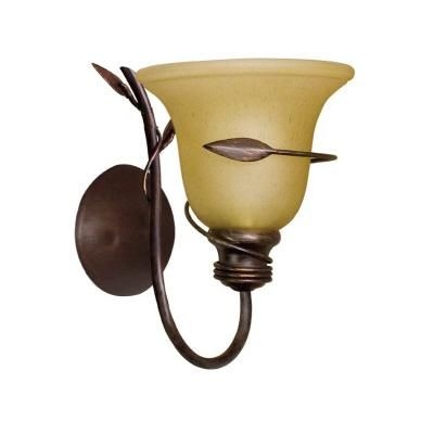 HAMPTON BAY | Ivy 1L Wall Sconce | Home Depot Canada