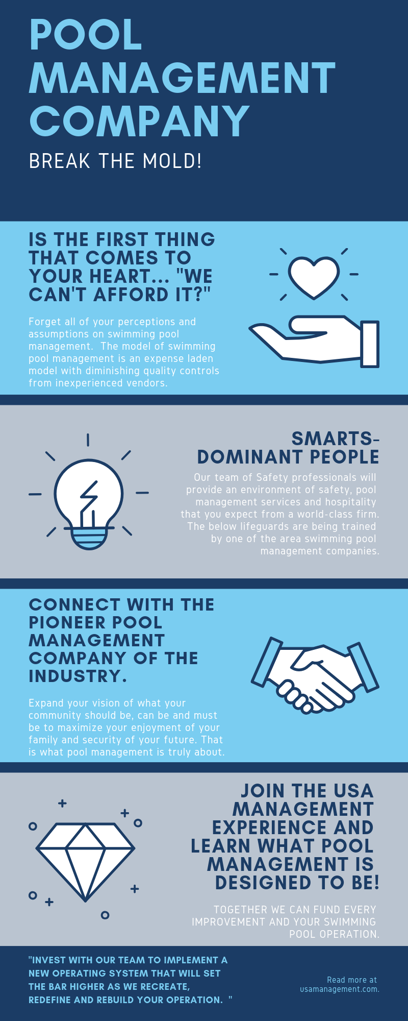 We Provide A Better Quality Of Pool Maintenance And Lifeguard Staffing For Pool Safety Join Our Pool Managemen Marketing Digital Marketing Consulting Business