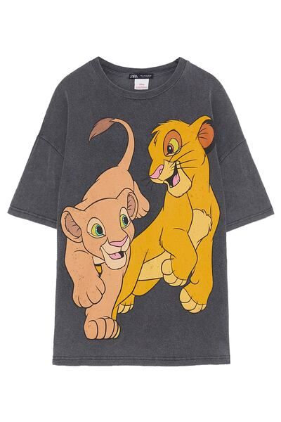 The Anthracite T Female Zara © Disney Shirt S Lion Grey King UqVzGSMp