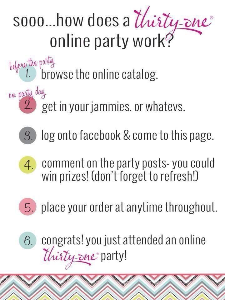 it\'s an on-line thirty-one party images - Google Search | Thirty ...
