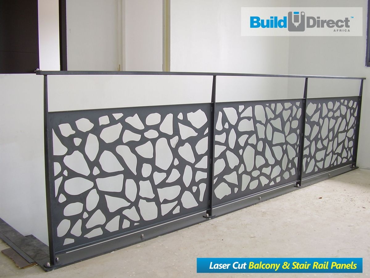 Garde Corps Metal Design pin su laser cut balcony & stair rail panel